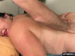 Telling babe Calista Roxxx Gets a rubdown and a fuck extend a control The brush beaver free sex